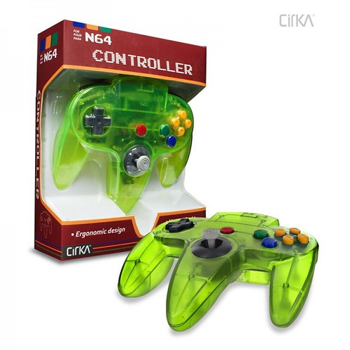 N64 Controller (Cyanine/Jungle)