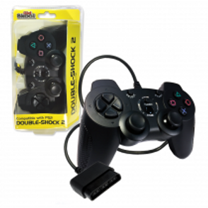 PS2 Wired DOUBLE-SHOCK 2 Controller (BLACK)