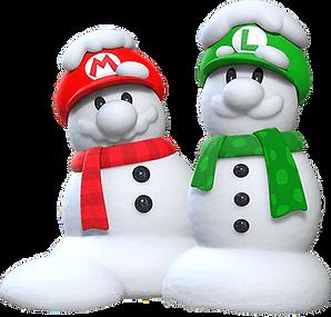 mario luigi snow men.png
