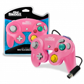 GameCube / Wii Compatible Controller - PINK/MAGENTA