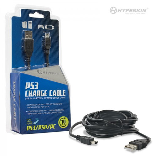 PlayStation 3 Controller Charging Cable