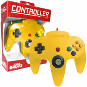 N64 Controller Yellow