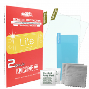 TEMPERED GLASS SCREEN PROTECTOR 2PACK FOR SWITCH LITE