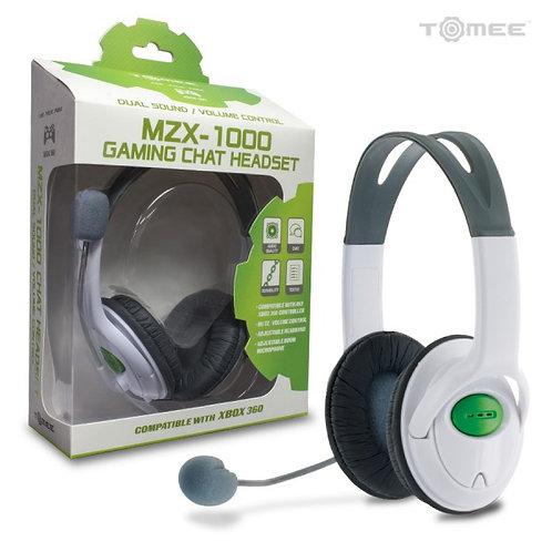 XBOX 360 Hyperkin MZX-1000 Stereo Headset (White)