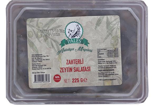 Zahterli Zeytin Salatası