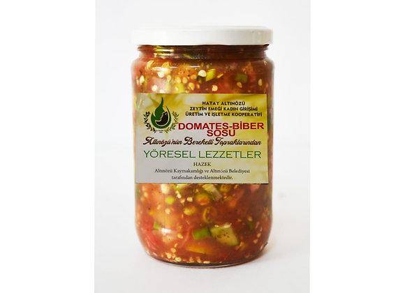 Süs Biber Salatası