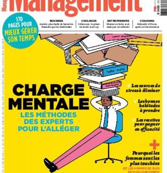 Nous sommes cités parmi les experts référents en matière de charge mentale! #Management #performance