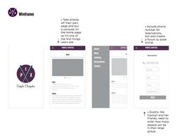 PurpleChopstix Redesign / Class Work