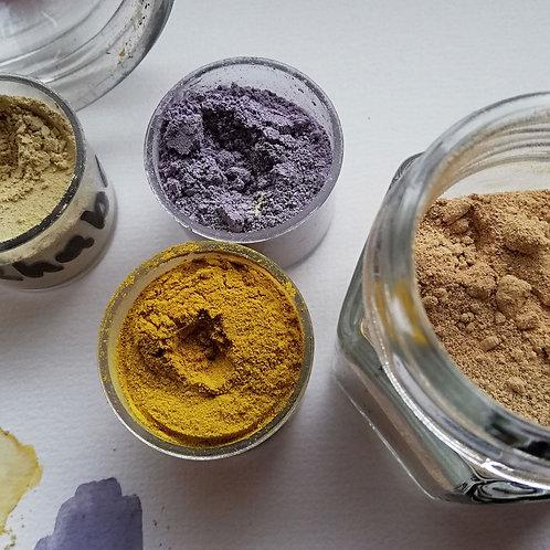 Kreativbox: Farben machen aus Pflanzen Modul 2: Naturpigmente