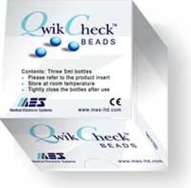 QwikCheck™ Beads.