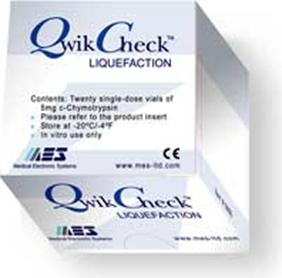 kit QwikCheck™ de licuefacción