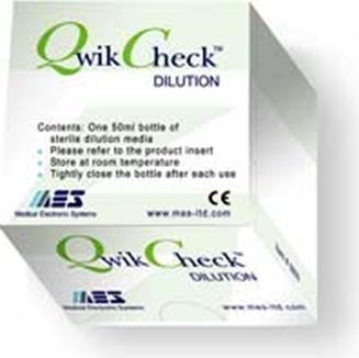 kits QwikCheck de dilución