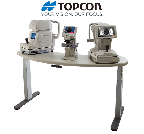 Topcon AIT-350W Adjustable Instrument Table