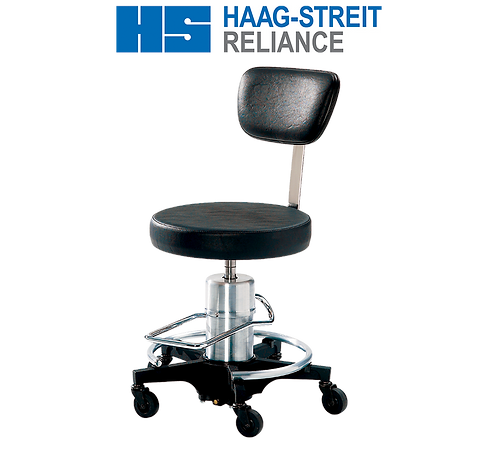 Reliance 546 Hydraulic Surgical Stool with Back