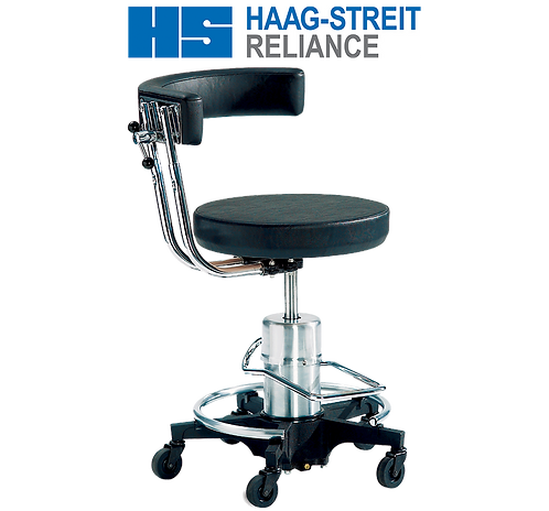 Reliance 556 Hydraulic Surgical Stool with Back