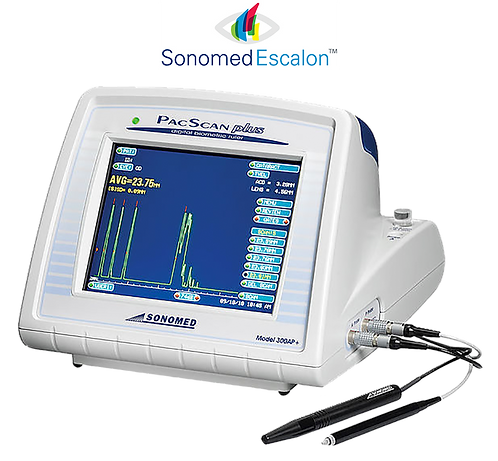Sonomed PacScan Plus A/B Scan