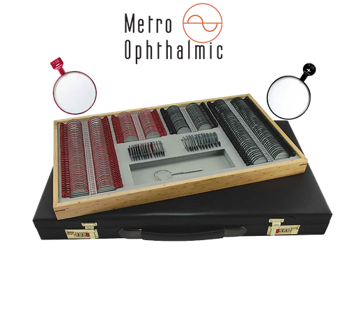 Metro Ophthalmic Trial Lens set