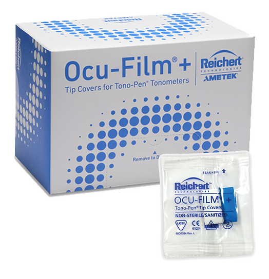 Reichert Ocu-Film® + Tip Covers (Box of 150, individually wrapped)