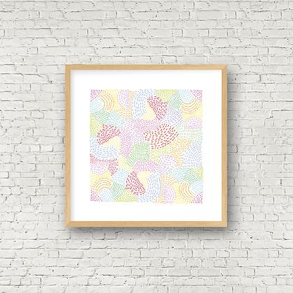 Fine Art Print | Bea Swirls