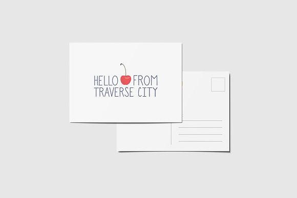 Traverse City Postcard