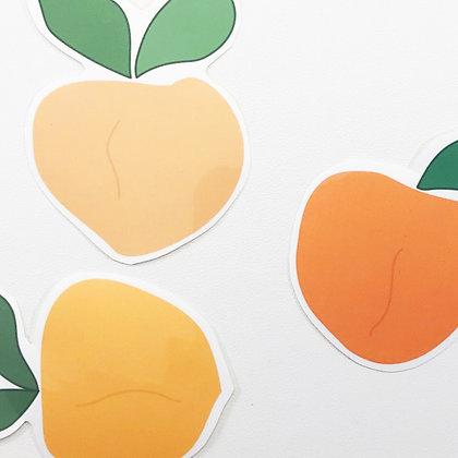 Peach Sticker Pack