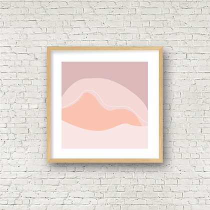 Fine Art Print | Mountain Scene