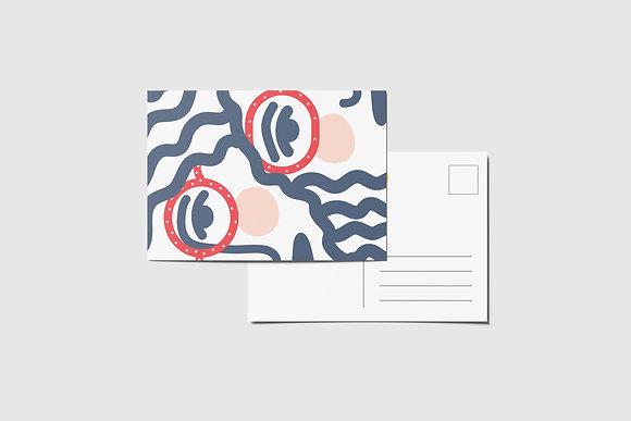 Look Postcard