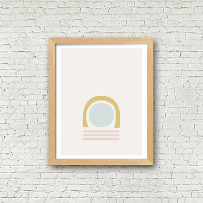 Fine Art Print | Fall Circle