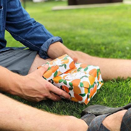 Peaches Gift Wrap