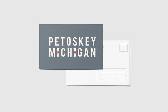 Petoskey Postcard