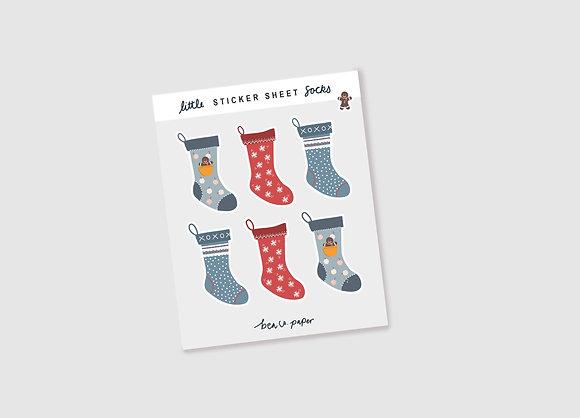 Stockings Sticker Sheet