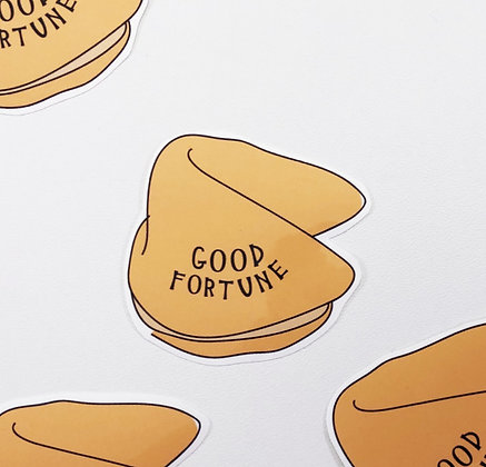 Fortune Cookie Sticker