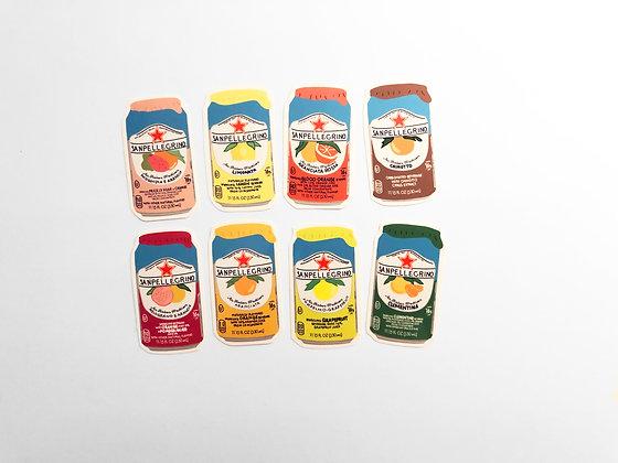 Sanpellegrino Sticker Pack