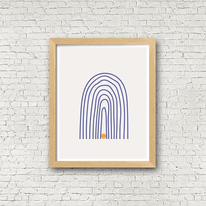 Fine Art Print | Tan Swan