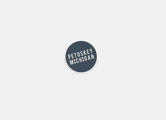 Petoskey, MI Sticker