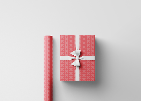 Red X Gift Wrap
