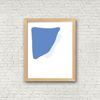 Fine Art Print | Blue