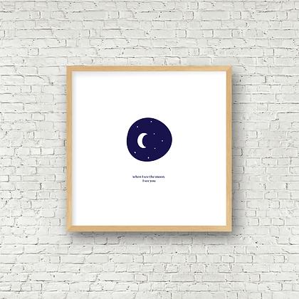 Fine Art Print | Momma Moon