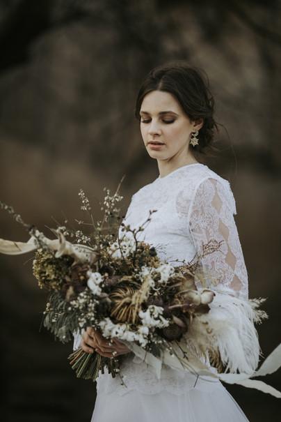 Bridal inspiration for celestial lovers