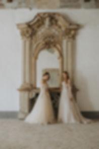 Romantic italian wedding - bridal inspiration - rara avis and ange etoiles dresses