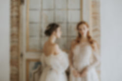 Romantic wedding - bridal inspiration - rara avis and ange etoiles dresses