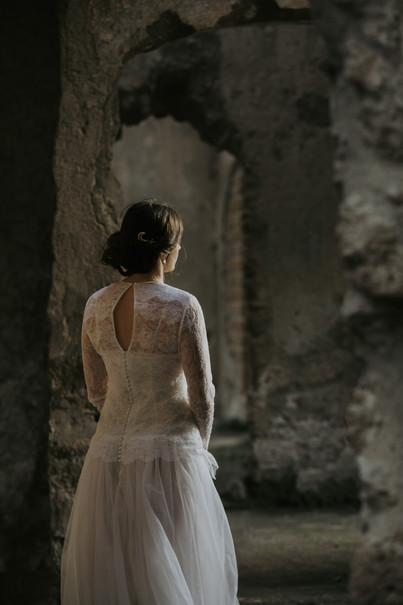 Callisto bridal hair comb