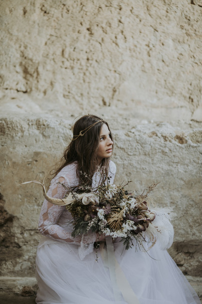 Selene bridal headchains