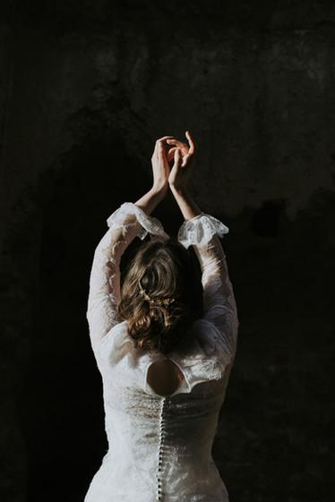 Pleiadi bridal haircomb