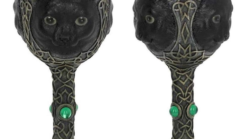 Feline Watcher Wine Goblet