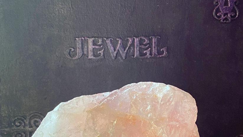 Rose Quartz large Raw crystal
