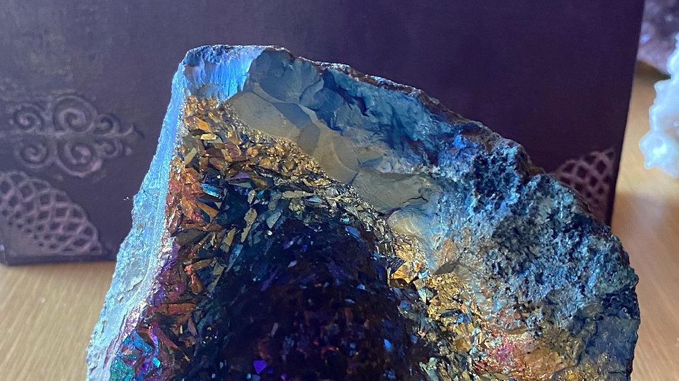 Titanium Aura Geode