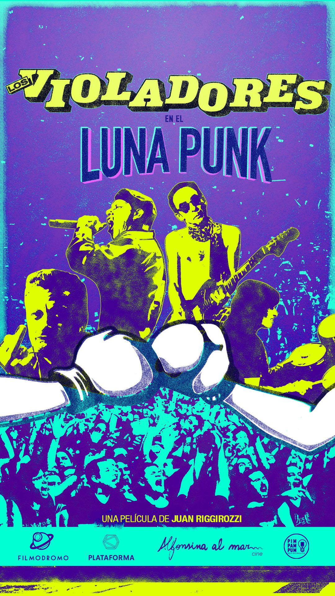 Los Violadores - En el Luna Punk