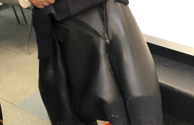 シラス用全身靴の脱着のコツ