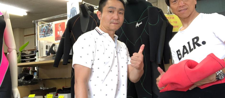 丹羽和道氏とスプリング、シーガルについて打ち合わせを行いました。